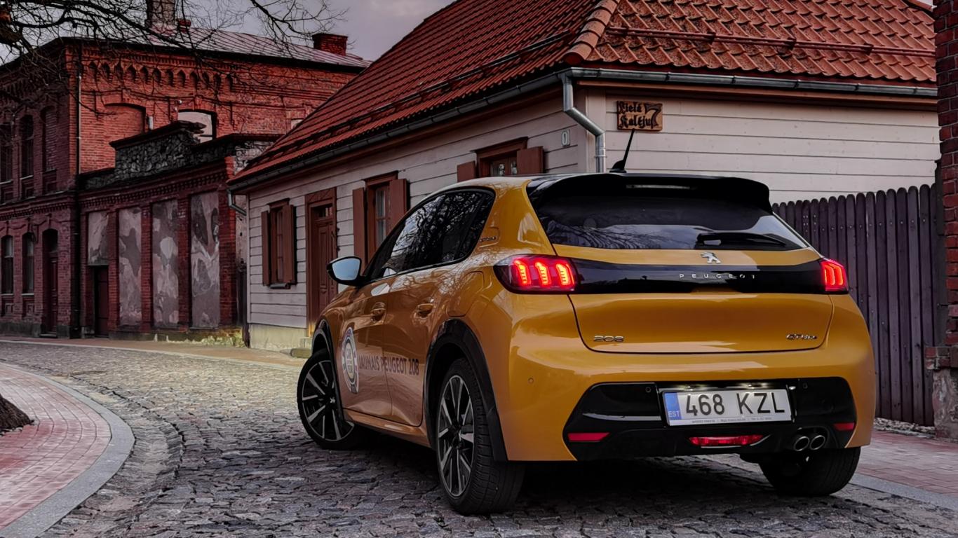 Testējam <em>Eiropas Gada auto</em> konkursa uzvarētāju <strong><em>Peugeot 208</em></strong>