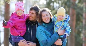 Ģimenes pieredze: <strong>Sportisks azarts it visā!</strong>