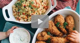 Kraukšķīgā maltīte – videoreceptes čipsu izmantošanai ēdienos