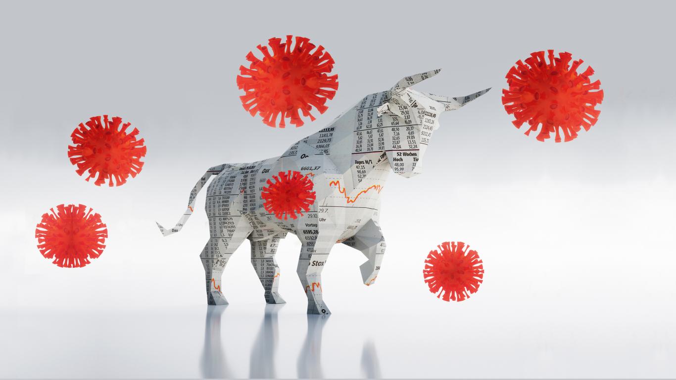 Vīruss pret Volstrītas bulli