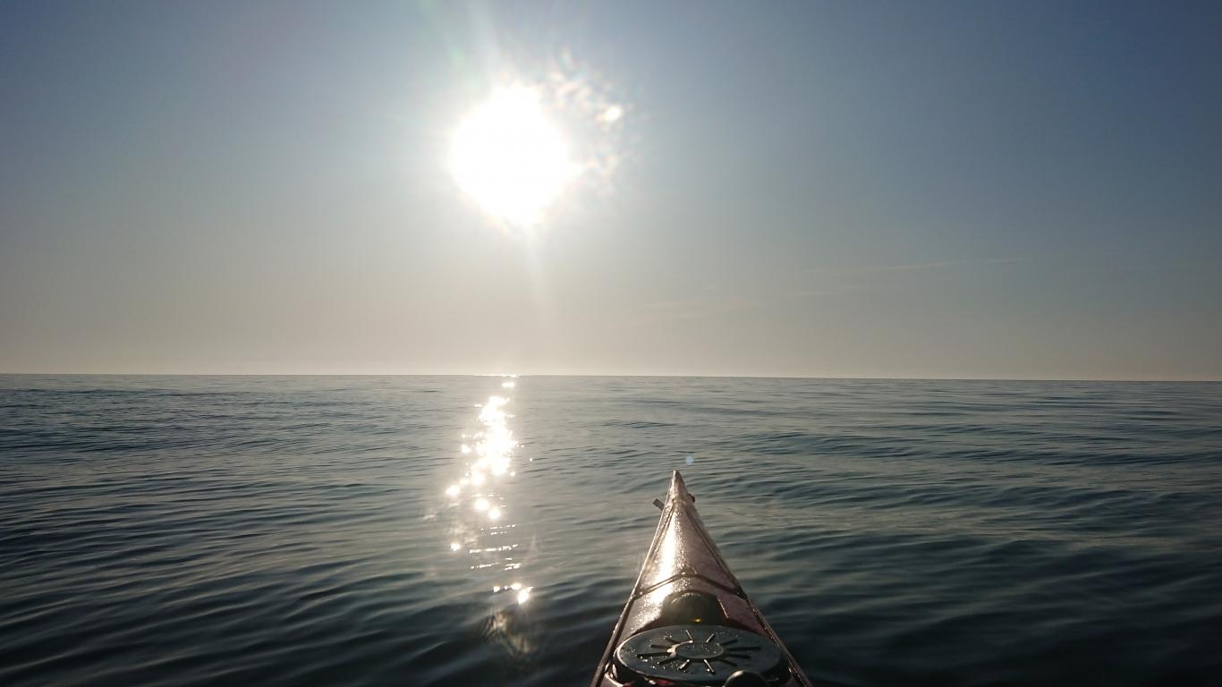 Kajakā pāri Baltijas jūrai
