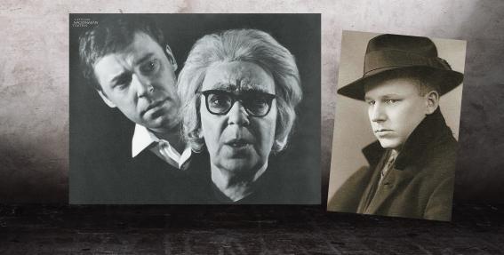 Olga Lejaskalne un viņas ģimene – aktieri par spīti karam un liktenim