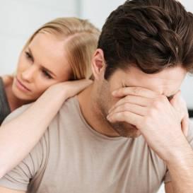 <strong>Pēcdzemdību depresija vīrietim.</strong> Kā viņam palīdzēt?
