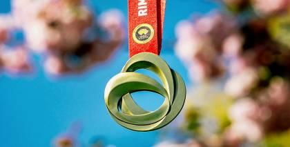 Rimi Rīgas maratona medaļa