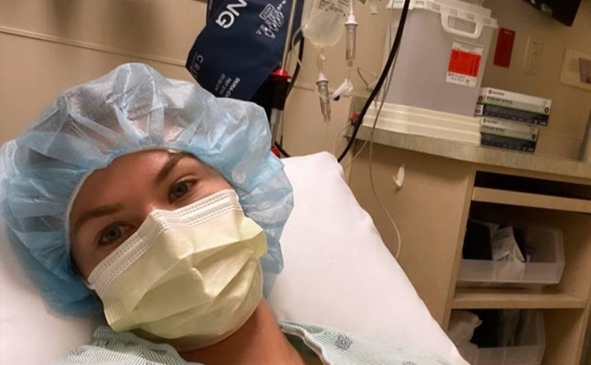 Latviešu skaistule <strong>Simona Kubasova-Prakaša nokļūst slimnīcā ASV</strong>