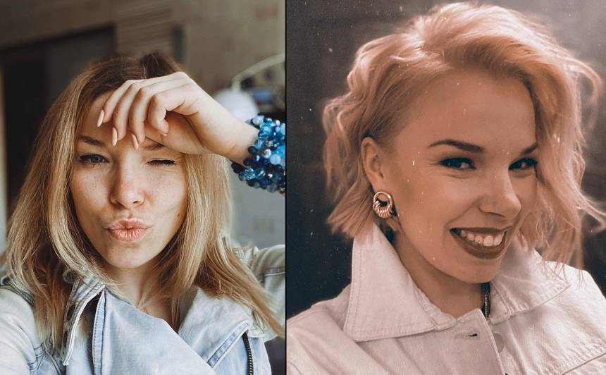 Jaunā frizūra - pirms un pēc