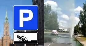 Nedienas Rīgā: Dārzciemā uz braucamās daļas <strong>pārsprāgusi siltumtīkla caurule</strong>