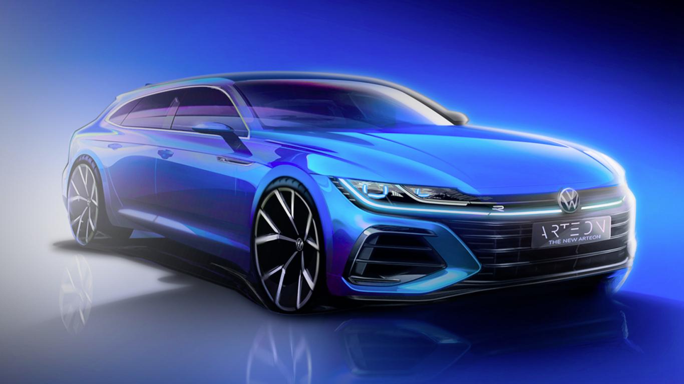 <em>Volkswagen</em> iepazīstina ar jauno <strong><em>Arteon Shooting Brake</em> pirms pasaules pirmizrādes</strong>