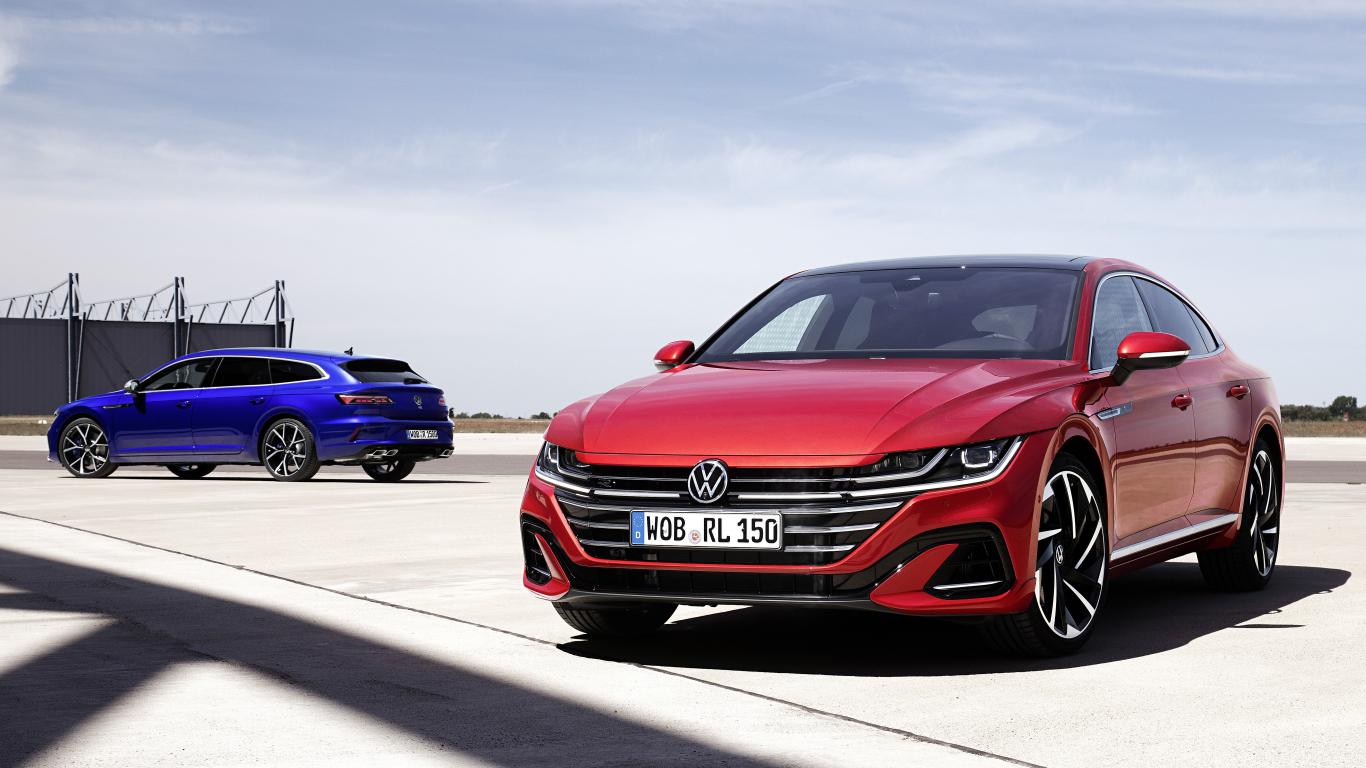 <strong><em>VW</em> atklāj jauno <em>Arteon</em></strong> — pirmo reizi <em>plug-in</em> hibrīds un sportiskā R versija
