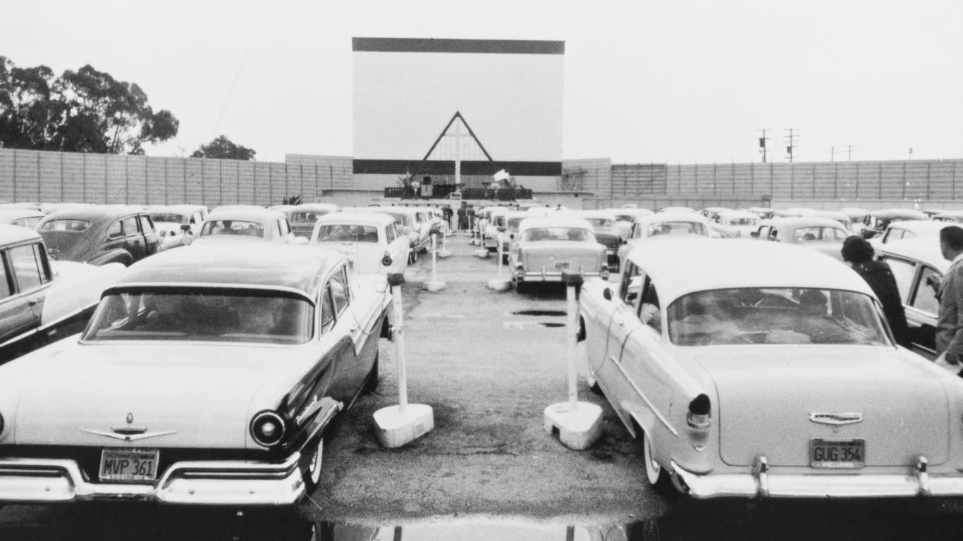 Leģenda: <strong>kā savulaik Amerikā radās brīvdabas kinoteātri</strong>