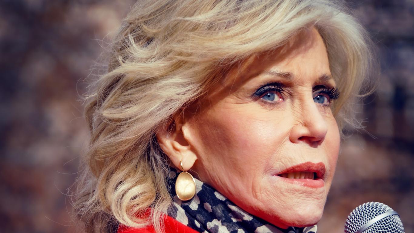 Aktrise Džeina Fonda <strong>vairs nekad nepirks drēbes</strong>