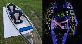 Māris Olte no ASV atved <strong>caurspīdīgas laivas</strong> 6000 eiro vērtībā