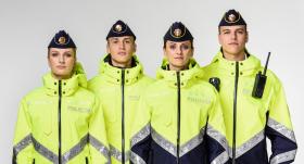 Jaunie policijas formastērpi