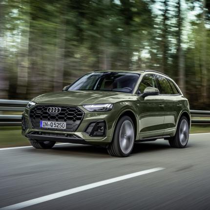 <em>Audi</em> atklāj modernizēto <strong>Q5 krosoveru</strong>