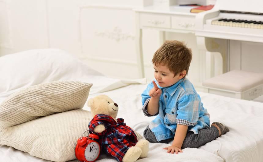 Kādēļ bērnam vajadzīgs <strong>noteikts dienas ritms jeb režīms?</strong>