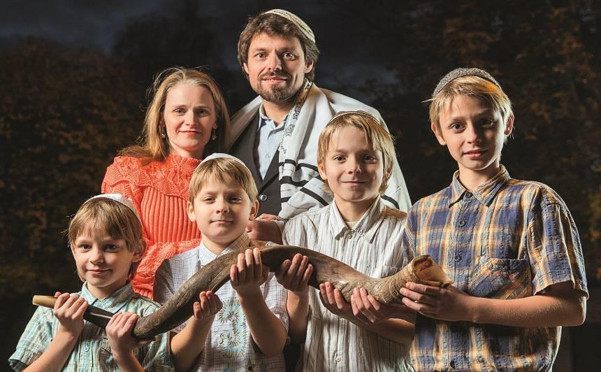 Ģimenes pieredze: <strong>Audzinām bērnus pēc ebreju tradīcijām</strong>