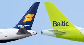 <em>airBaltic</em> un <em>Icelandair</em> <strong>vienojas par sadarbības lidojumiem</strong>