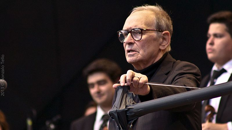 Miris talantīgais filmu <strong>mūzikas komponists Ennio Morrikone</strong>