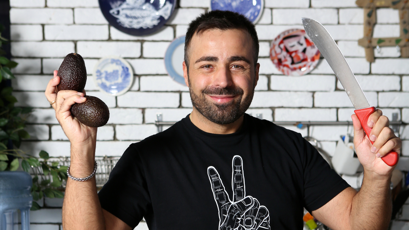 Roberto Meloni: <strong>Latviešiem IR sava virtuve un vēl kāda!</strong>