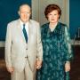 Vaira Vīķe-Freiberga un Imants Freibergs – 60 uzticības gadi
