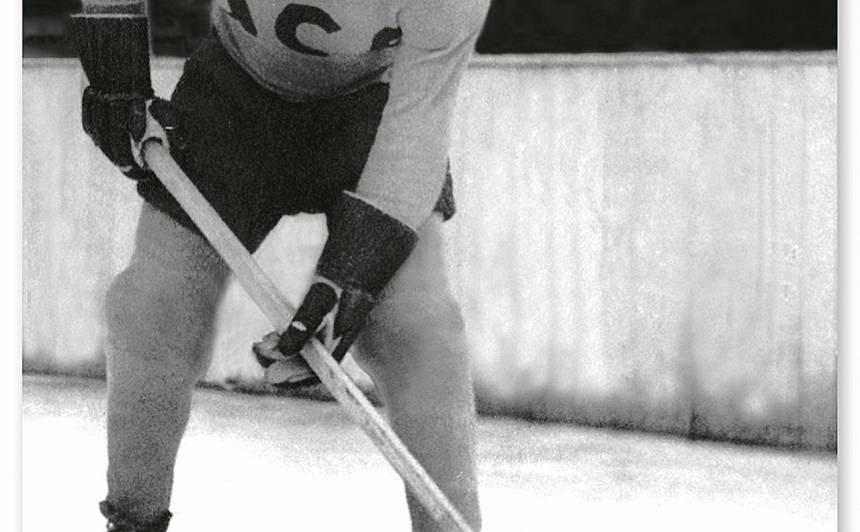 1948. gads. Haralds Norītis kļuva par pēdējo no Latviešu komadnas Augsburgā. Viņš aizgāja mūžībā 2019. gada novembrī, 92 gadu vecumā. Foto: Norīšu ģimenes kolekcijā (autors nezināms)