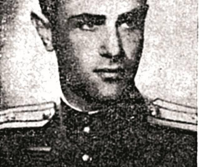Sarkanās armijas virsnieks Jāzeps Pasternaks