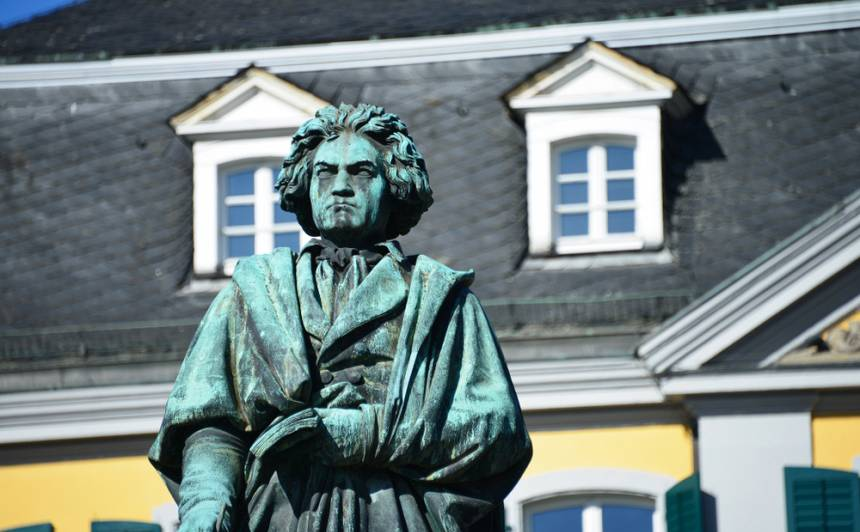 Ludviga van Bēthovena piemineklis Bonnā