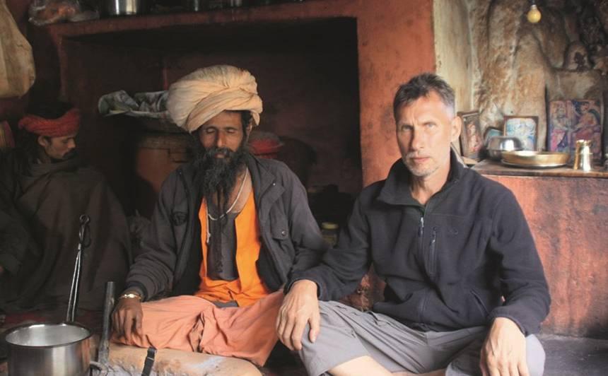 Ceļojumā Indijā.