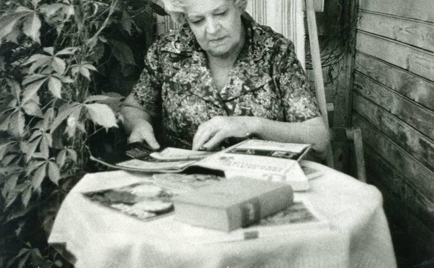 Vasarnīcā Asaros 1973.gadā