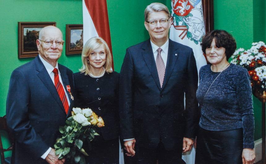 Aldonis Vēriņš - Triju Zvaigžņu ordeņa kavalieris