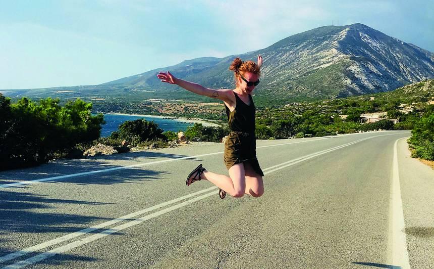 Ceļojumā ar draudzenēm Krētā