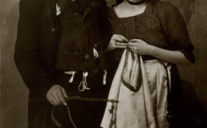 Anta Klints - Zāra, Alfrēds Amtmanis-Briedītis - Joske Dailes teātra iestudējumā 1923. gadā