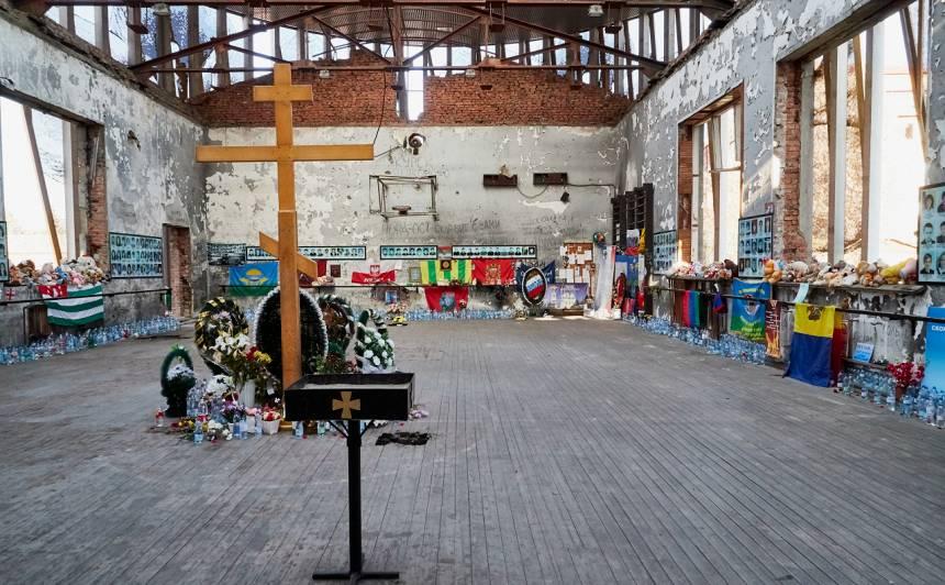 Piemiņas vieta Beslendas traģēdijas upuriem