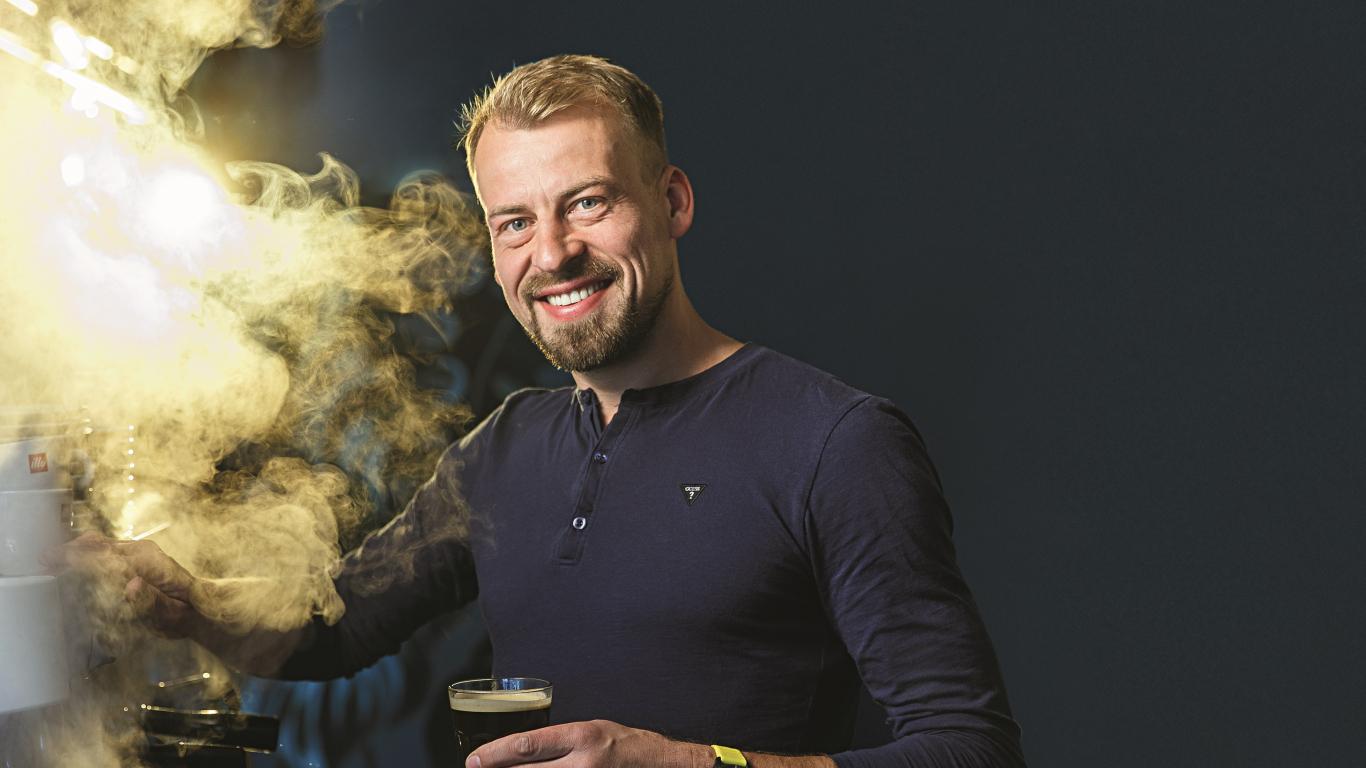 Kafijas meistars Iļja Sinagins
