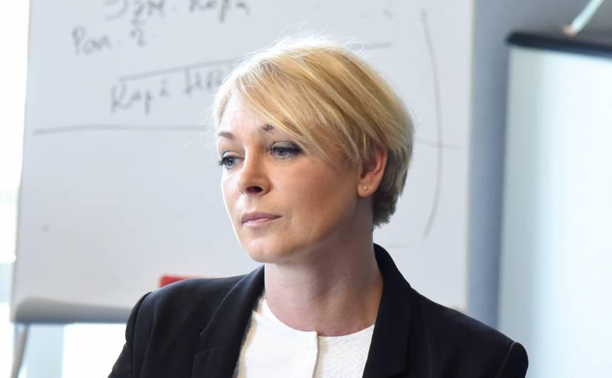 Vakcinācijas projekta biroja vadītāja Eva Juhņēviča