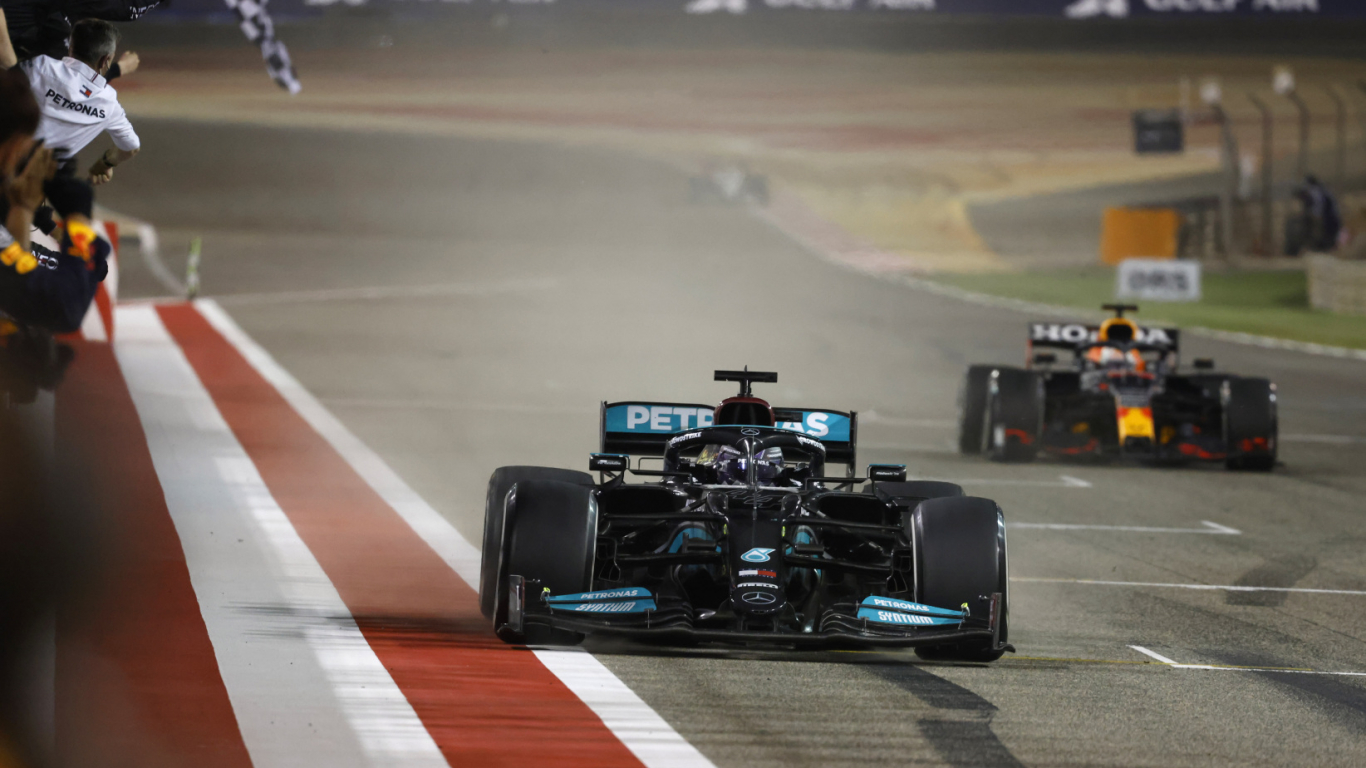 Bahreinas GP finišs