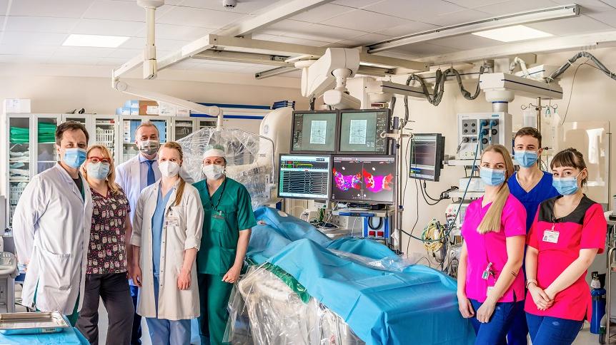 Kardioloģijas centra mediķu komanda