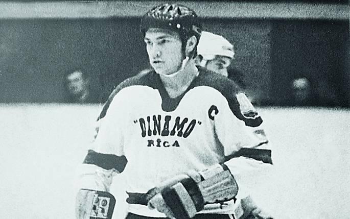 Andris Hendelis - Rīgas Dinamo kapteinis