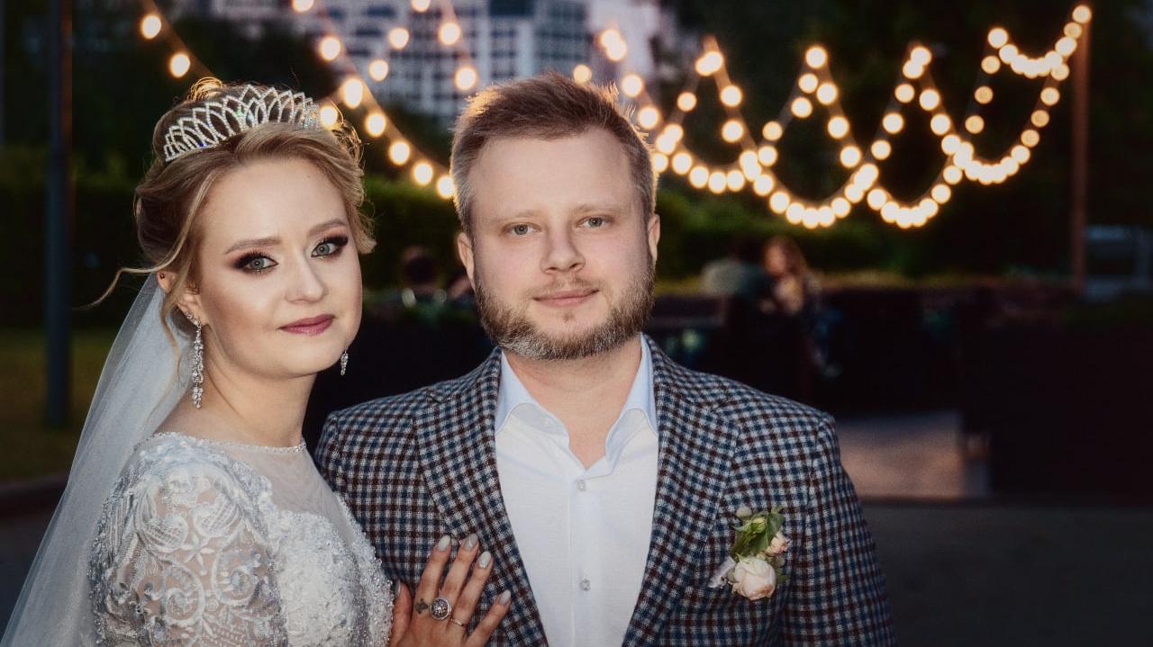 Kattie ar vīru Jevgeņiju