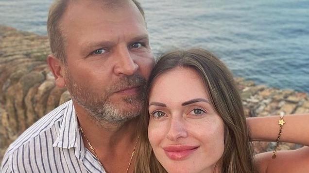 Oļegs Fiļs un Kristīne Jelinska