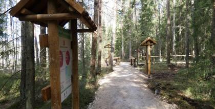 TESTS: Vai tu spēj atpazīt Latvijas dabas takas no viena teikuma?