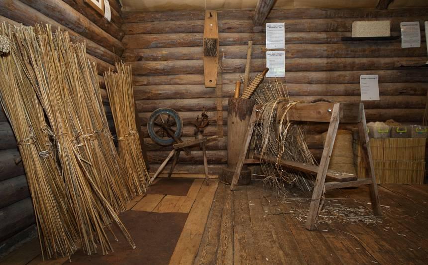 Saimniecībā atrodas Latvijā vienīgais kaņepju muzejs.
